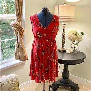Torrid Floral Dress NWT Size 00X